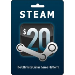 Valve Steam Gift Card Wallet Code Emailed Worldwide