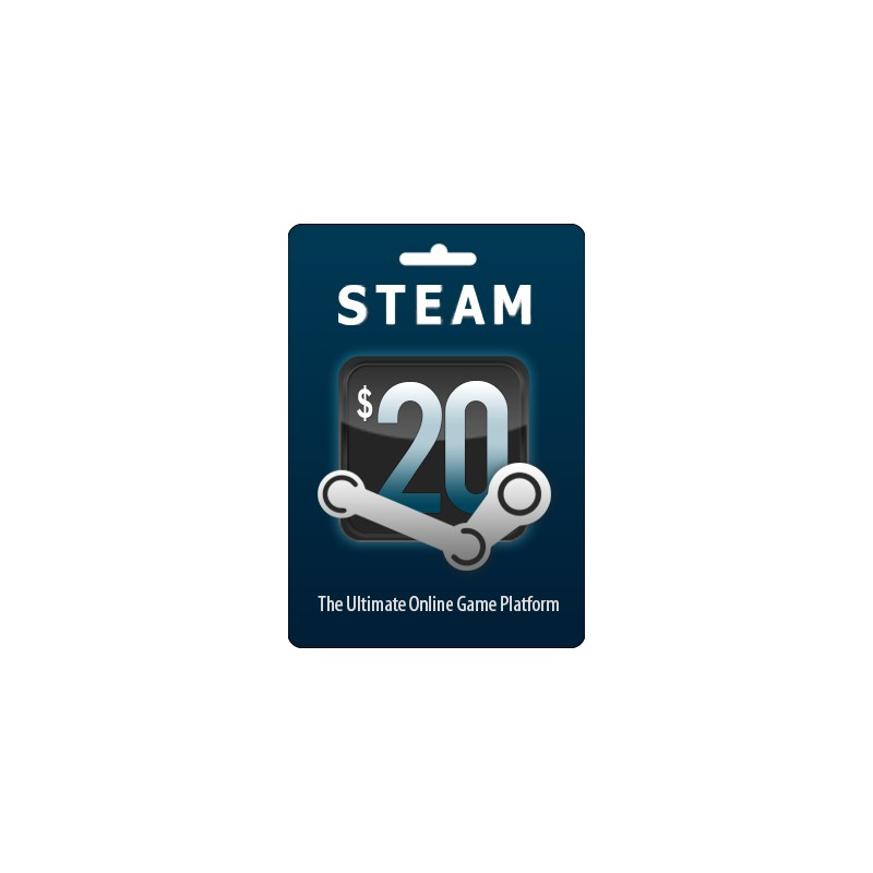 20 steam wallet code