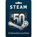 Steam Gift Card $50 Wallet Valve Code Emailed Worldwide