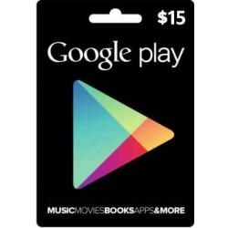 Google Play $25 eGift Card Certificate Emailed Worldwide Code 25$