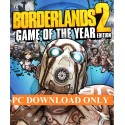 Borderlands 2 Game GOTY PC / Steam CD Key Digital Download