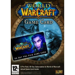World of WARCRAFT 60 day Pre-paid Game Time Card WoW