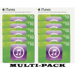 iTunes $10 x 10 codes Apple for iPod iPhone iPAD Apps Gift Cards 100% Original Emailed