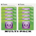 iTunes $10 x 10 codes Apple Phone iPAD Apps Gift Cards Emailed
