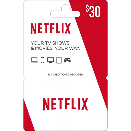 Netflix Gift Card Code Certificate Emailed Worldwide