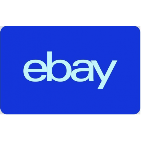Ebay Gift Card $25 $50 $100 Code Certificate Emailed Worldwide