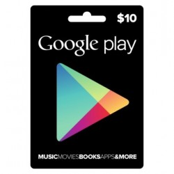 Google Play $10 eGift Card Store Vouchers Emailed Worldwide 10$