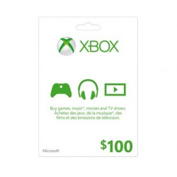 XBOX $100 LIVE GIFT CARD MICROSOFT POINTS MS CERTIFICATE VOUCHER CODE EMAILED WORLDWIDE