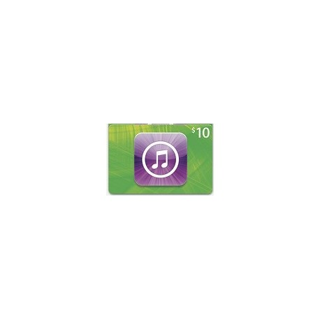 $10 iTunes Gift Card Apple iPhone iPad Mac 10$ Emailed