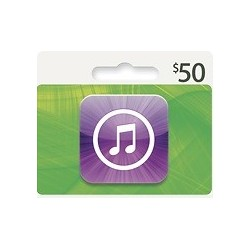 $50 iTunes Gift Card Apple USA iPhone iPad Mac 50$ (E-mail Delivery)