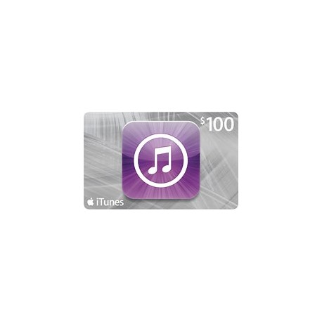 $100 iTunes Gift Card Apple USA iPhone iPad Mac 100$ (E-mail Delivery)
