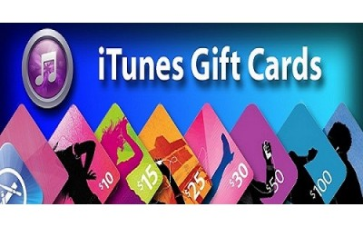 Apple iTunes gift cards on sale emailed international from USA digital delivery