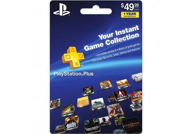 Playstation Network Plus Membership Subscription cards emailed worldwide