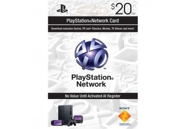 playstation network $20 gift card emailed